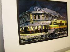 Seaboard Railroad The Orange Blossom Special  Artist Railroad Archives bt