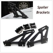 Auto Car SUV Black Rear Trunk Wing Spoiler Mount Legs Brackets Mount Tail Plates