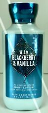 BATH AND BODY WORKS*WILD BLACKBERRY & VANILLA*LOTION CREAM*Free Shipping!*NEW