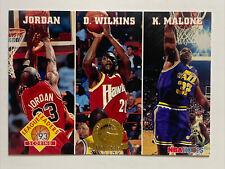1993-94 Hoops 5th Anniversary #283 Michael Jordan / Wilkins / Malone
