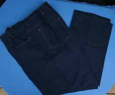 Haband Fit Forever Sz 42 x 30 Faux Denim Expandable Waist Slacks Vtg Mens