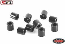 RC4WD 6 mm BLACK Spacer with M3 Hole Pack or 10 METAL washers shims TF2