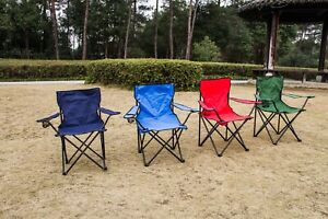 Folding Outdoor Chair Camping Garden Fishing Seat Furniture Portable Foldable