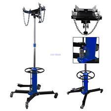 1100 LB 2 Stage Hydraulic Transmission Jack w/ 360° Swivel Wheels Car Lift Hoist