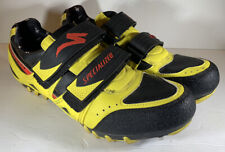 Specialized Comp cycling Shoes US Yellow 610-1944 Size 10.5