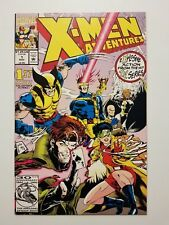 "X-Men Adventures #1 Nm (Marvel,1992) ""Night Of The Sentinels!"" Wolverine! T.V."