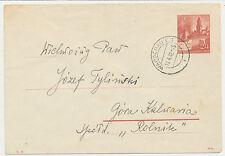 Generalgouvernement Brief Kuvert VI. 41. (309)