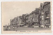 Belgium,Middelkerke, La Digue, De Zeedijk Postcard #2, B274
