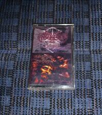ENSLAVED / REIGN OF EREBUS. Split Cassette Tape Black Metal Rare Russian MC