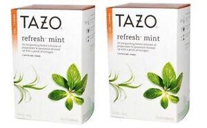Tazo Herbal Tea Refresh Mint 2 Pack