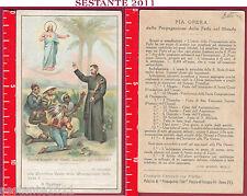 2105 SANTINO HOLY CARD SACRO CUORE GESù S. FRANCESCO SAVERIO SANTA LEGA 9024
