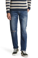 Mens Lucky Brand Jeans Mid Rise 221 Original Straight Leg 34 x 34 NWT/DEFECT
