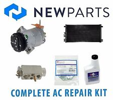 Pontiac G6 2007-2009 L4 2.4L Complete A/C Repair Kit New Compressor with Clutch