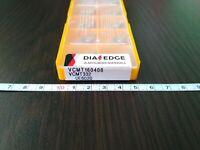 MITSUBISHI VCMT 160408 UE6020 / VCMT332 UE6020 10 PCS CARBIDE INSERTS