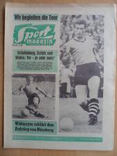 SPORT MAGAZIN KICKER 28A - 3.7. 1961 H.Szymaniak Tour de France 1.FC Nürnberg
