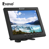 """8"""" inch IPS HD VGA Video Audio HDMI Monitor 4:3 BNC Security for CCTV DVD PC VCD"""