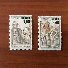 Service 91-92 ** MNH UNESCO Tikal Guatemala Bagerhar Annee 1986