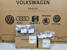AUDI Q7 FRONT & REAR BRAKE PADS AND FRONT WEAR SENSORS OEM Brand New 7L0698151R