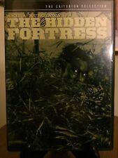 THE HIDDEN FORTRESS- Criterion Collection DVD, #116, Region 1 Pristine 1st Print
