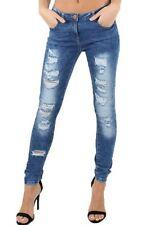 Unbranded Cotton Plus Size Straight Leg Jeans for Women