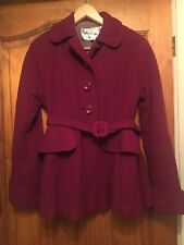 1940's CC41 Original Vintage Red Wool Jacket.