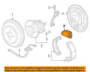 Chevrolet GM OEM 17-18 Sonic Rear-Wheel Cylinder 42589968