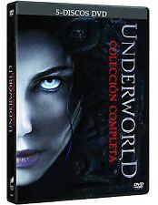 UNDERWORLD COLECCION COMPLETA DVD PACK DE 5 PELICULAS NUEVO ( SIN ABRIR )