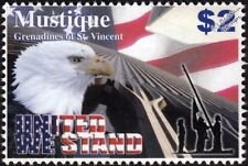 UNITED WE STAND World Trade Center WTC/Bald Eagle New York Memorial Stamp (2003)
