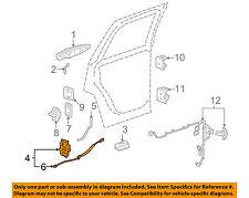 GM OEM Rear Door-Lock Actuator Motor 25876389