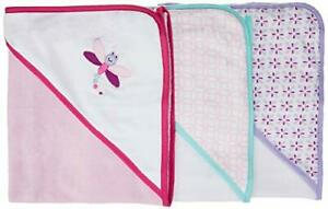 Luvable Friends Unisex Baby Cotton Terry Hooded Towels Dragonfly One Size
