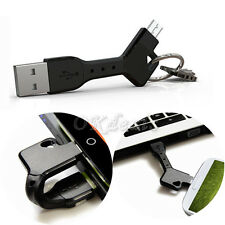 Universal Micro USB Sync Data Charger Cable Key Chain For  Android Cell Phones