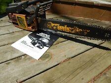 "Vintage McCulloch TIMBER BEAR Gas Chainsaw w/ 20"" Bar"