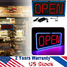 Business Sign Neon Open Sign Led Light Business Sign 30W Horizontal 60x30cm Sale