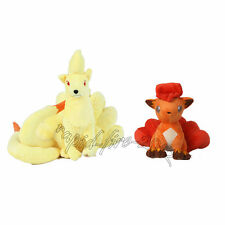 2pcs Pokemon Center Ninetales & Vulpix Plush Doll Figure Toy Great Gift US Ship