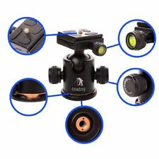 360 Degree Mini Tripod Ball Head Ball head Compass with Quick-release Plate BK03