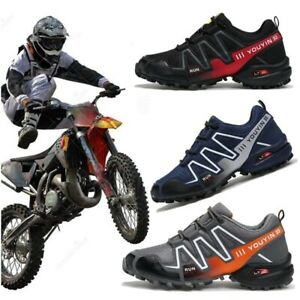 Man Mountain Hiking Shoes Non-Locking Cycling Shoes Breathable Bicycle Shoes