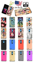 Samsung Galaxy A20 / A50 Design Hybrid Shock Rubber Rugged Protective Case Cover