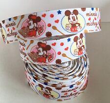 Yard Disney Mickey Minnie Mouse Retro Hornear de Cinta de Grogrén carácter #115