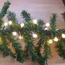 Maxi LED-Tannengirlande Weihnachtsgirlande 2,7m 200er warmweiß außen XA11907
