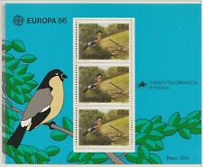 Europa CEPT 1986 Natuurbescherming Azoren Blok 7 - Postfris MNH cat waarde € 11