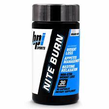 BPI Sports Nite Burn: Burn Fat While You Sleep Fat Burner for Diet, Weight Loss