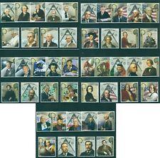 Famous Maçons Franc-Maçonnerie Science Art Musique Politics Space 45 MNH Timbres