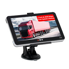"XGODY 7"" HD Touch Portable Truck Car GPS Navigation SAT NAV 8GB Free UK & EU Map"