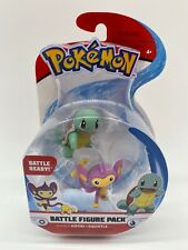 Pokemon Battle Figure Set Aipom Squirtle New