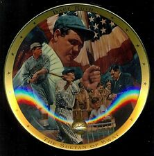 "1995 Franklin Mint Royal Doulton Babe Ruth 8"" Collector Plate !"