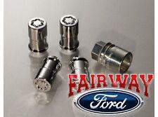 09 thru 14 F-150 OEM Genuine Ford Locking Lug Nut KIt - Wheel Locks Exposed Lugs