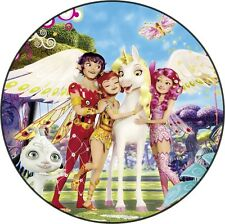 Mia et Moi Decoration Gateau Disque Azyme Comestible Anniversaire 20cm