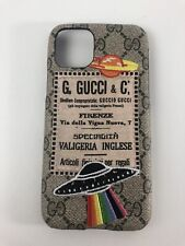 Gucci Case For Iphone 11 Pro With Rainbow Logo