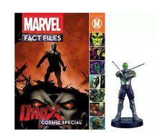 Eaglemoss Marvel Fact Files COSMIC SPECIAL Drax the Destroyer  Figurine + Mag