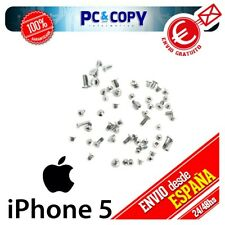 S350 Pack Set Kit Tornillos Completo para iphone 5 blanco Plata iphone5 Pentalob